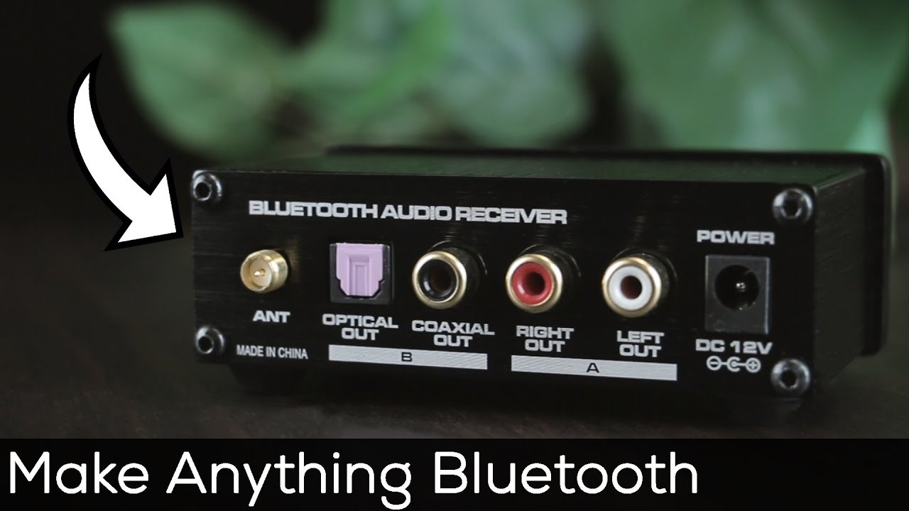 How To Add Bluetooth To Your Old Stereo Youtube