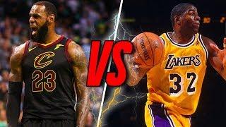 LeBron James vs Magic Johnson - WHO IS BETTER?!