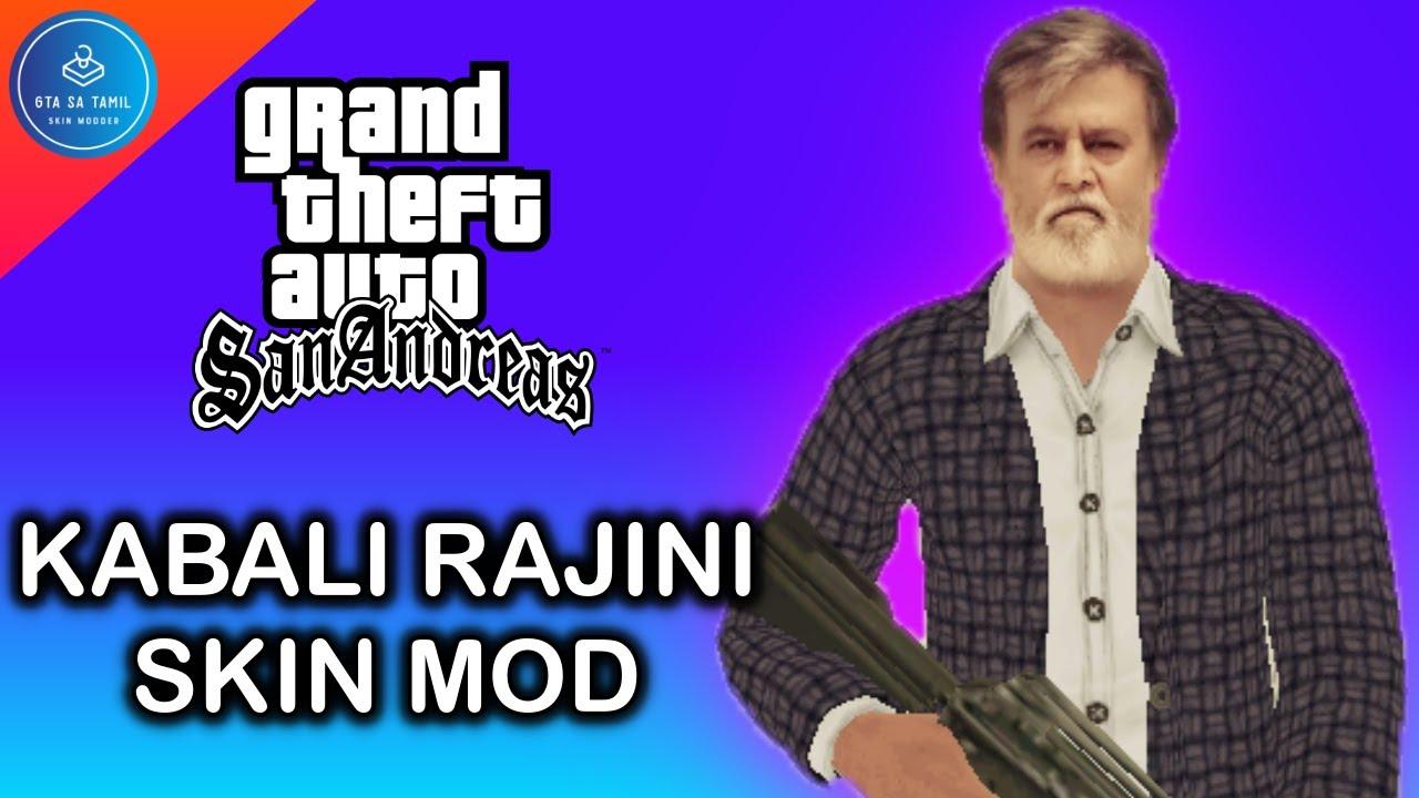 Kabali Rajini skin mod for GTA SA | Super Star | Tamil Actor