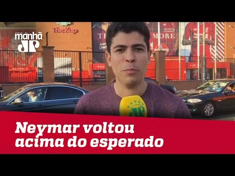 Tite Diz Que Neymar Voltou Acima Do Esperado   Ulisses Neto