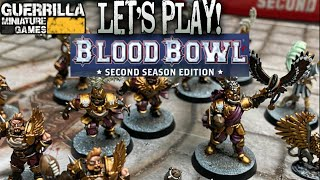 Let's Play! - BLOOD BOWL - Second Season Edition