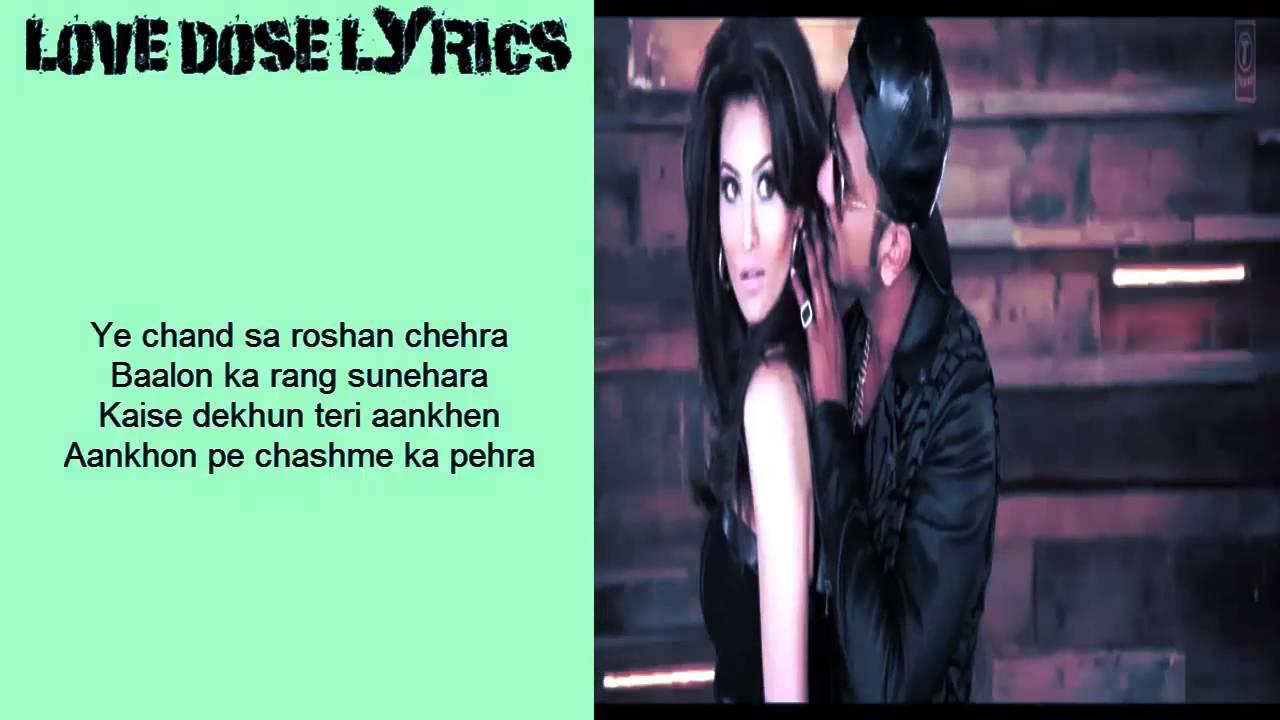 LOVE DOSE HD FULL VIDEO WITH LYRICS - Yo Yo Honey Singh (Desi Kalakaar)