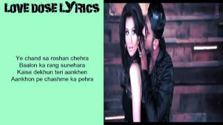 LOVE DOSE HD FULL VIDEO WITH LYRICS - Yo Yo Honey Singh (Desi Kalakaar)