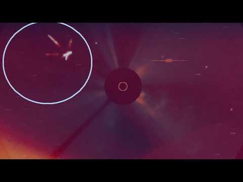 Космический аппарат SOHO снял нечто такое что привело NASA в ужас!