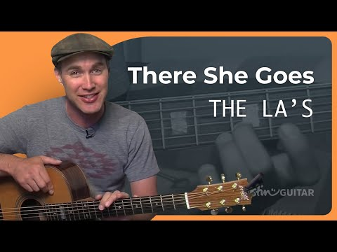How to play There She Goes by the La's (Rock Guitar Lesson SB-308)