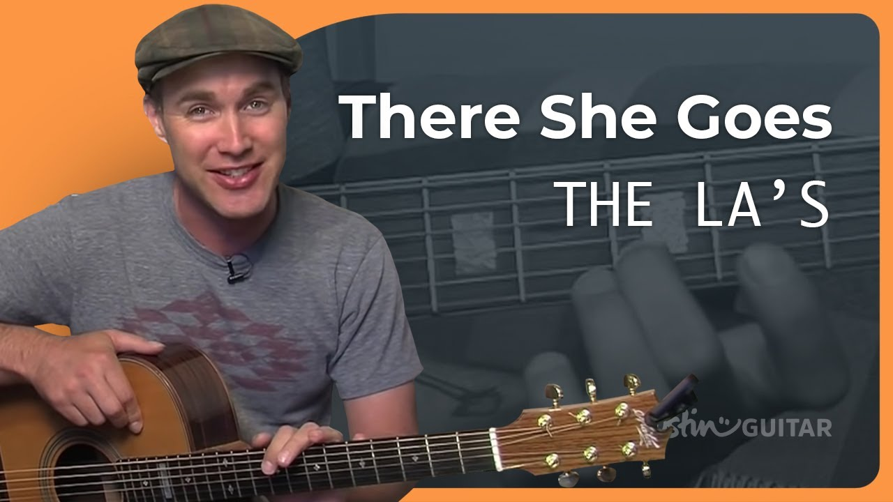 How To Play There She Goes By The Las Rock Guitar Lesson Sb 308
