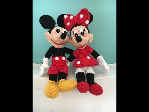 Minnie Mouse Crochet pattern - Disney crochet pattern - Amigurumi ...   360x480