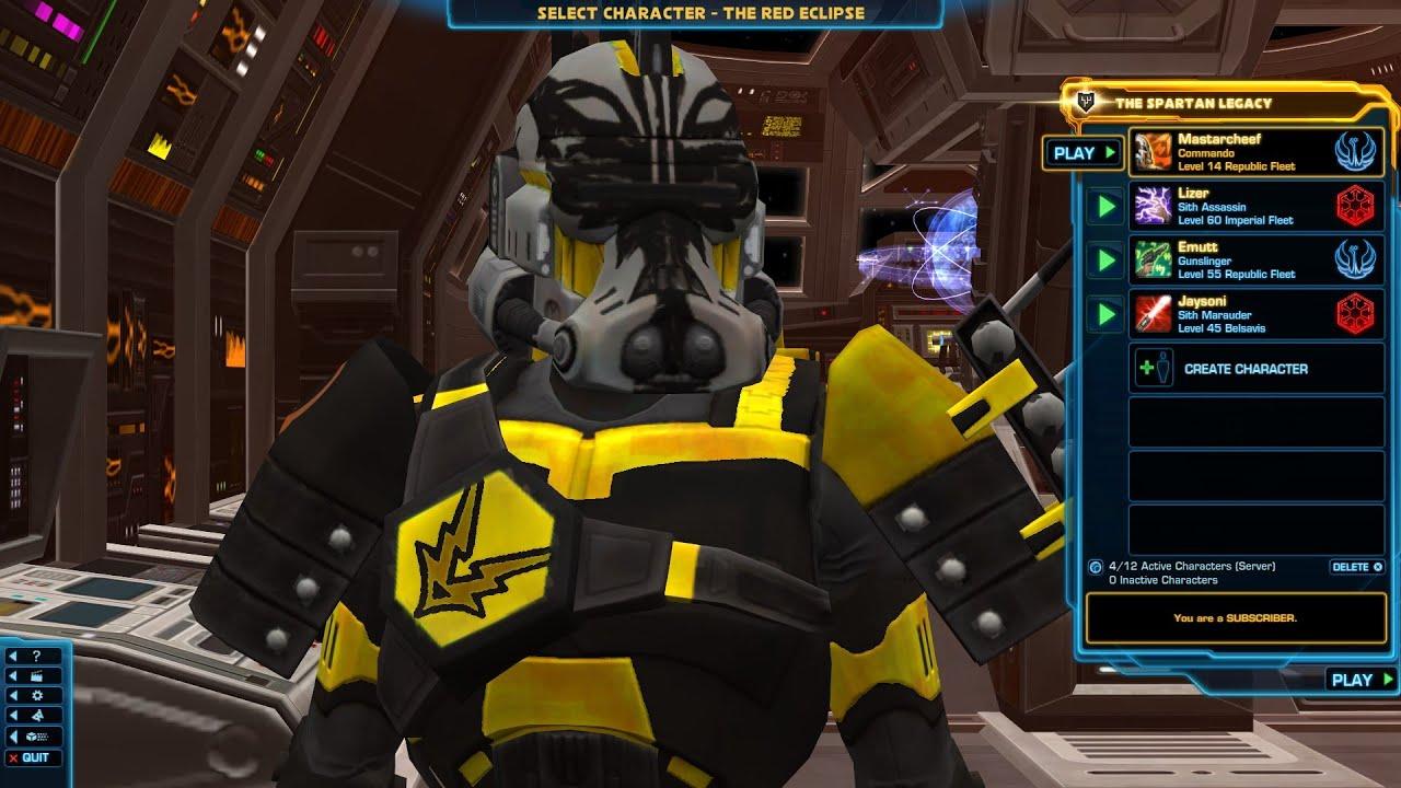 Swtor Commando Trooper Walkthrough Part 1 Youtube
