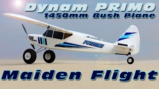 Dynam Primo 1450mm STOL plane - Maiden Flight! :)