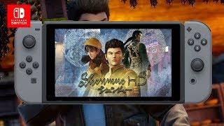 Shenmue: Versao Dreamcast No  Nintendo Switch