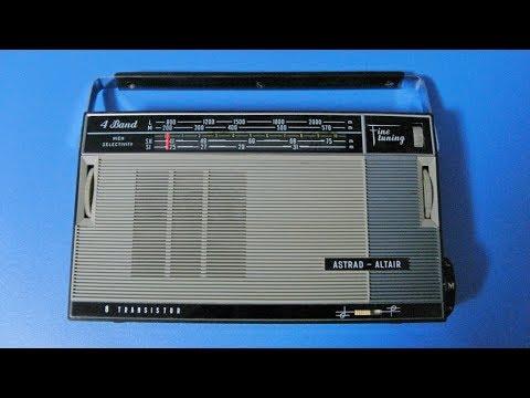 Радиоприемник Россия 301 или Астрад-Альтаир(Astrad-Altair) обзор.Сделано в СССР
