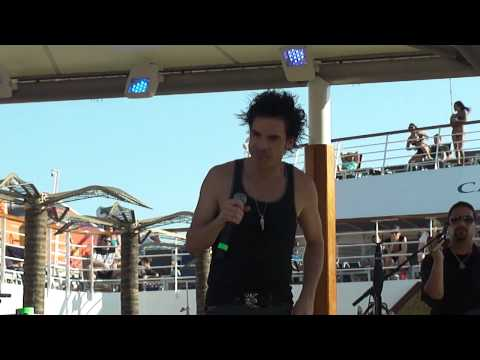 """Vh1 Best Cruise Ever - Train """"I'm About To Come Alive"""""""