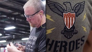Supporting The Veteran Workforce With Our 'Salute To Heroes' Tee