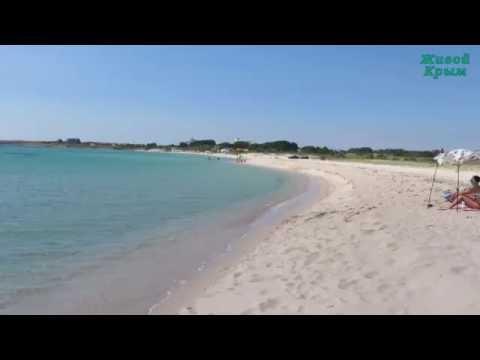 Лучший песчаный пляж Западного Крыма