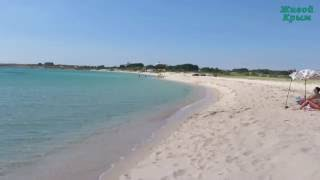 видео крым пляжи с песком