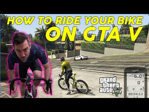How To Link Up Your Bicycle With Gta 5 Youtube