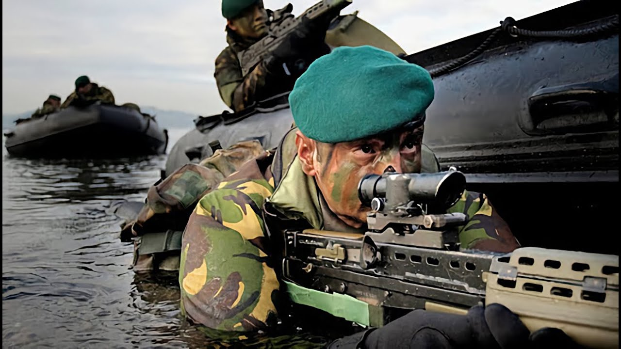 Royal Marine Training (Part 3/4) seen through the EYES of ...