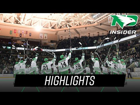 North Dakota vs. Omaha | Highlights | UND Hockey | 3/9/19