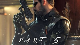 Deus Ex Mankind Divided Walkthrough Gameplay Part 5 includes a Review and Mission 5 from the Full Game for PS4 Xbox One and PC This Deus Ex