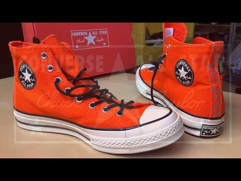 98598f8c3b56 1970 s Chuck Taylor All Stars compared to regular Converse All ...  radio1342. Unboxing Converse Chuck 70 GORE-TEX® High Top
