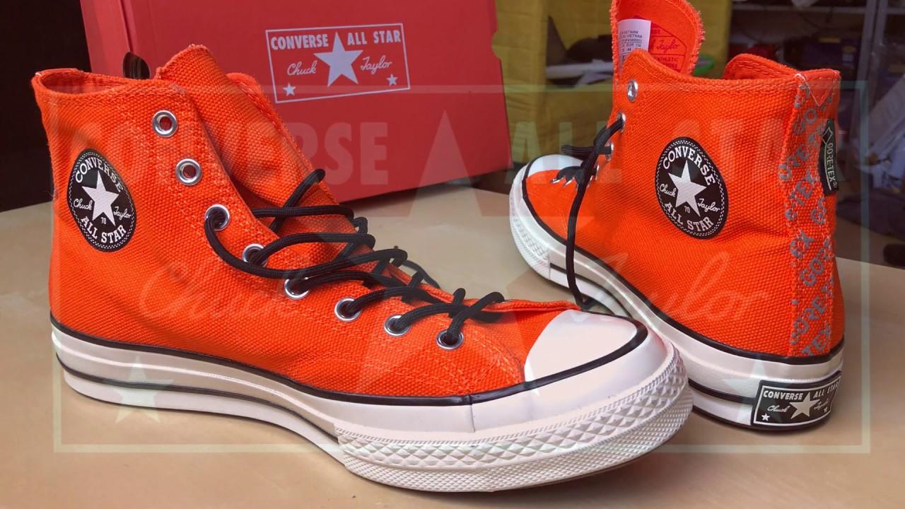 Unboxing Converse Chuck 70 GORE TEX® High Top