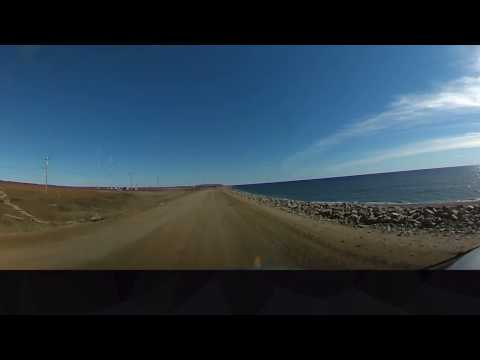 Nome Alaska Nome-Council Highway east bound 360 degree