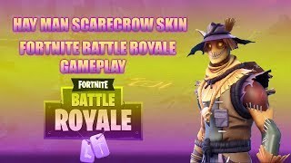 NEW Scarecrow Skin!! Hay Man - Fortnite Battle Royale Gameplay