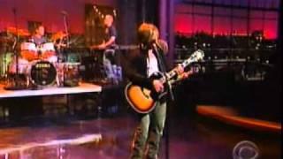 Goo Goo Dolls - Here is Gone (Live on Letterman)
