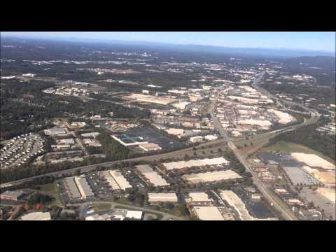Landing - Greenville Spartanburg International Airport (GSP) - Greenville South Carolina