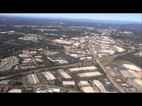 Landing - Greenville Spartanburg International Airport (GSP) - Greenville South Carolina