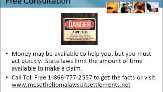 Mesothelioma Lawyer Cantonment Florida 1-866-777-2557 Asbestos Lung Cancer Lawsuit FL