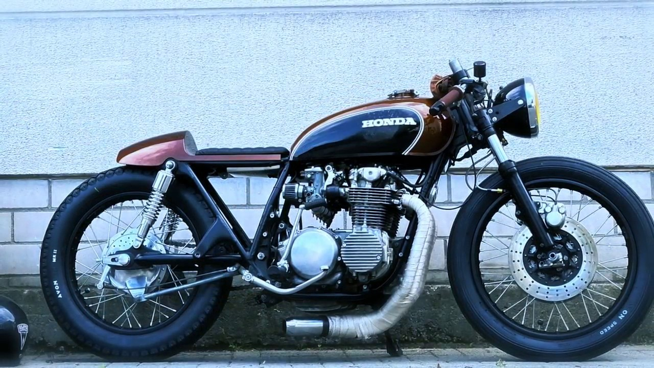 cafe racer honda cb 500 four by fate customs youtube. Black Bedroom Furniture Sets. Home Design Ideas