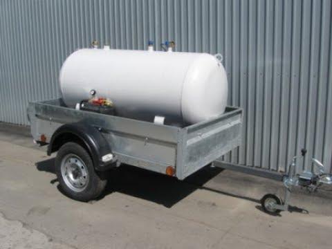 Мобильный газгольдер 800 литров с экономичным электроиспарителем.