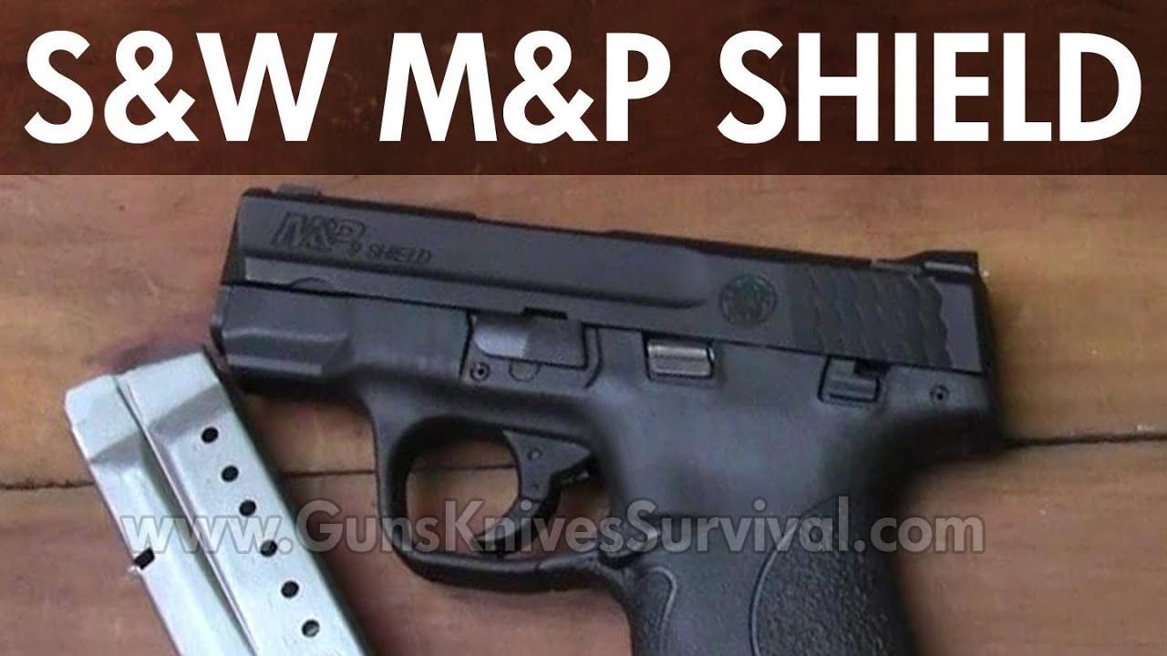 S&W M&P Shield Concealed Carry 9mm Pistol - YouTube