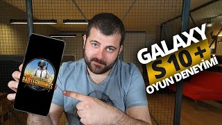 Galaxy S10 Plus ile PUBG oynadık, 1. olduk! İşte Galaxy S10 Plus Oyun Deneyimi!