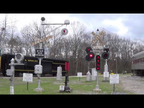 Crossing Signals at the Heart of Dixie Railroad Museum