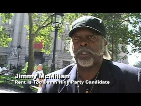 Jimmy McMillan—2005 New York Mayoral Candidate