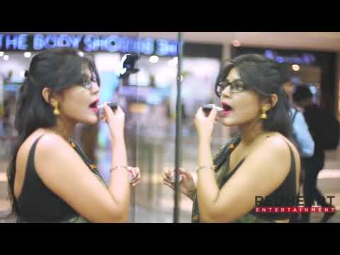 Download Triyaa Das Black Saree Profile Video bengali hot saree model hot video
