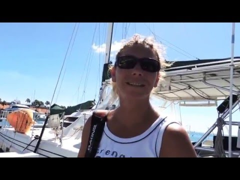A YACHTING STORY: a French woman explains