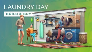 Sims 4  |  Laundry Day Stuff - Build & Buy Objects Overview!