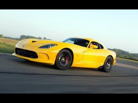 2013 Srt Viper First Drive Review Car And Driver Youtube
