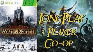 The Lord of the Rings War in the North - Longplay Split Screen Co-op 3 Player Full Game Walkthrough