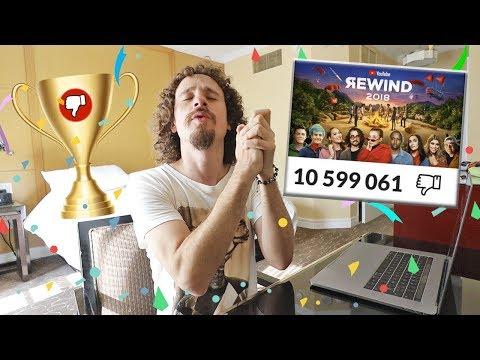 DIEZ MILLONES DE DISLIKES en YouTube Rewind 🏆