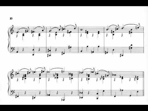 Gershwin  Promenade for piano with score
