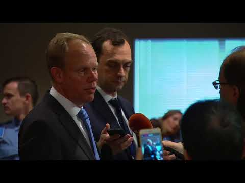 Matthew Rycroft (United Kingdom) on the situation in Libya - Media Stakeout (16 November 2017)