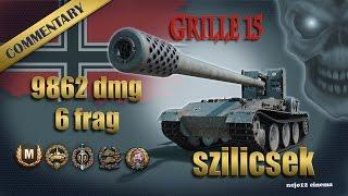 Grille 15 - Ace Tanker, Top Gun, High Caliber, Confederate, Tank-Sniper (szilicsek)