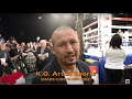 SALIDO ON VARGAS LOSS AND WHO HE WANTS NEXT MIURA OR BERCHELT!