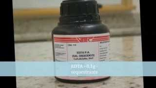 UCB Farmacotécnica 2013/1sem - Elixir de Paracetamol 100 mL