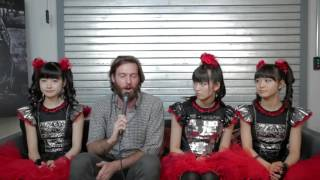 Cute/Terrifying Music Sensation Babymetal Talks Overlords and Ariana Grande