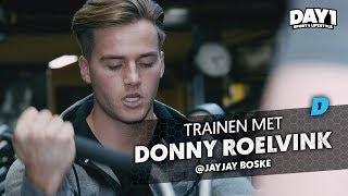 Donny Roelvink traint harder dan zijn broer! || #DAY1 Afl. #48